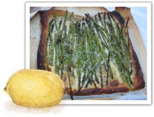 Great asparargus tart recipe