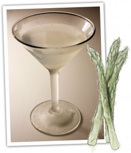 Asparagus and Martini