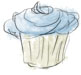 Recipe illustration for cupcake recipe