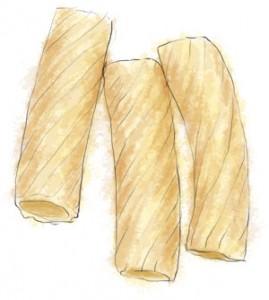 Recipe illustration of rigatoni for butternut squash recipe