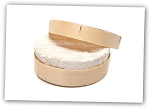 Camembert in a box for recipe