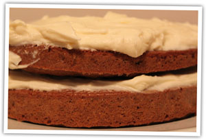 Carrot cake photo for easy carrot cake recipe