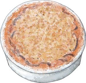 Illustrated eggplant parmigana recipe