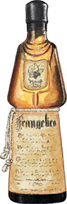 Frangelico illustration for Guy Fawkes hot toddie recipes