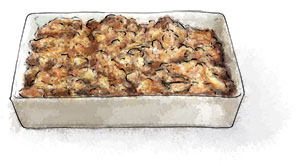 apple and cranberry stuffing recipe for Thanksgiving