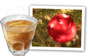 Apple punch illustration for holiday party apple punch recipe