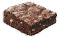 Chocolate Brownie for snow bound Manhattanites
