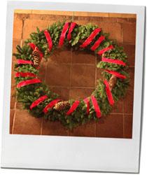 Christmas Wreath for Dickensian Christmas Feast