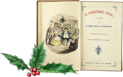 Dickensian Christmas Menu