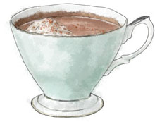 Hot Chocolate for New Year's Eve