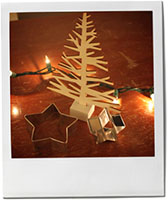 Star Cutters for Christmas Star Cookie recipe