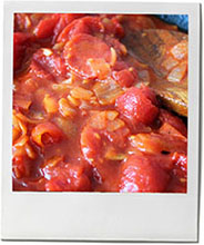 Tomato sauce photo for tomato sauce recipe