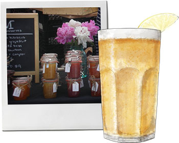 Shandy, lemon and the brooklyn flea for Bank Holiday recipes
