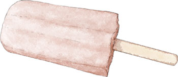 Arnold Palmer gin Ice popsicle illustration