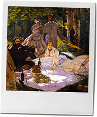 Monet painting for the most decadent picnic recipes