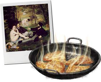 Crepe suzette for the perfect decadent picnic recipes