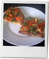 Summer bruschetta photo for recipe