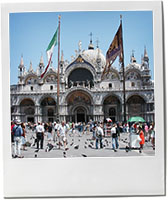 St Marks Square to lllustrate Venetian recipes