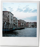 Venice photo for summer risotto recipe