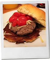 Burger - the first attempt