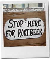 Root Beer in Amish Country for rosemary vodka recipe post