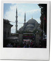 The Blue Mosque photo for Imam Bayaldi aubergine recipe