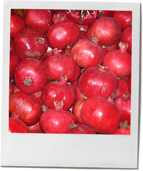 Pomegranates photo for pomegranate cocktail recipe