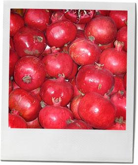 Pomegranates photo for pomegranate cocktail recipe