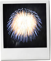 Firework photo for Guy Fawkes bonfire night lancashire hotpot recipe
