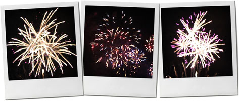 line of firework photos for guy fawkes recipe post