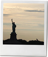 Statue Of Liberty photo for remembrance rosemary apple cake