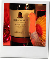 New Zealand pinot noir for Thanksgiving