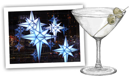 Christmas Stars And Martinis