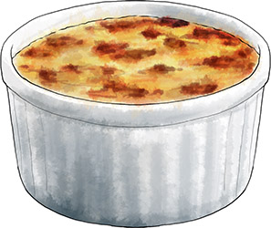 Potted Cheese illustration for recipe