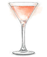 Gloom raiser cocktail illustration