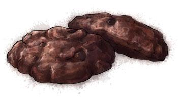 Chocolate hazelnut cookies for recipe