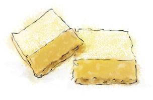 Lemon Bars illustration for recipe
