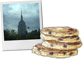 Empire State And Pancakes