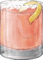 Salty Dog cocktail for recipe illustration