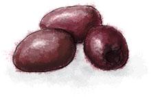 Kalamata Olives for summer skewer recipe