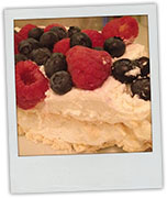 Pavlova photo for recipe