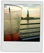 Statue Of Liberty for pavlova recipe