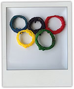 Olympic Onion Rings for Olympic party recipes
