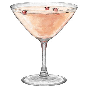 White Cranberry Cosmopolitans – because sometimes a stiff drink can ...