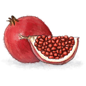 Pomegranate for pork shoulder ragu
