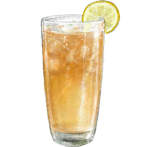 Coconut Iced Tea