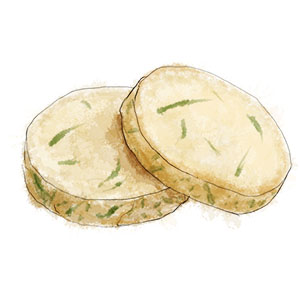 Rosemary Parmesan  Disks