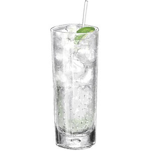 Cucumber Gin and Tonic for summer recipes