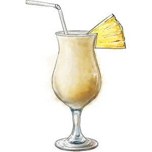 Pina Colada for summer