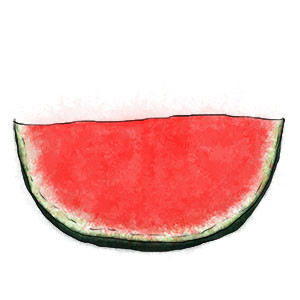Watermelon for the end of summer